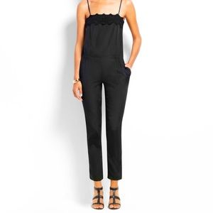 Ann Taylor Embroidered Jumpsuit